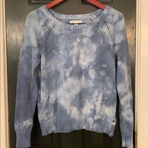 American Eagle soft tie dye sweater medium